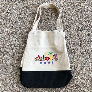 Handbags - Hawaiian canvas tote bag